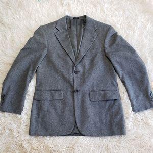 Oscar de la renta wool/cashmere blazer 38S